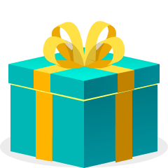 Wrapped Gift on Skype Emoticons 1.2