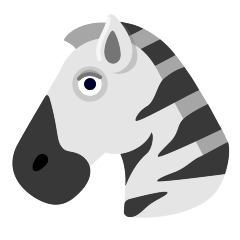 Zebra on Skype Emoticons 1.2