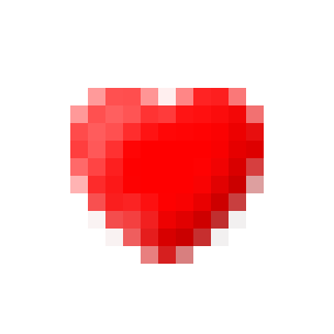 Red Heart on Skype Emoticons 1.0